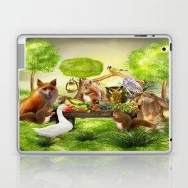 Sommerfest der Tiere Laptop & iPad Skin