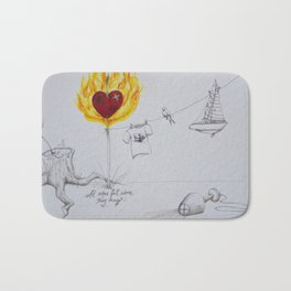 Ashes Bath Mat