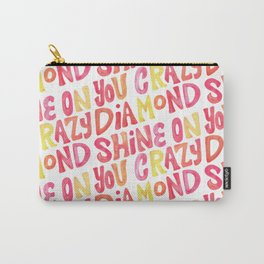 Shine On Your Crazy Diamond – Pink & Melon Palette Carry-All Pouch