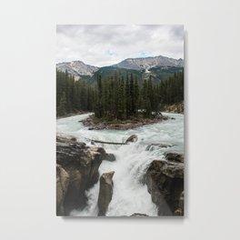 Sunwapta Falls, Jasper National Park/Icefields Parkway Canada Metal Print