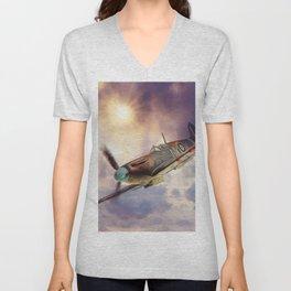 Supermarine Spitfire Unisex V-Neck