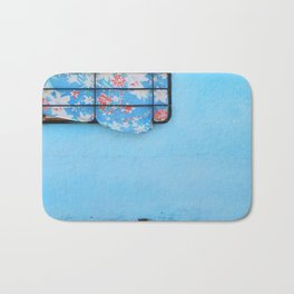 38. Trouble Blue, Cuba Bath Mat