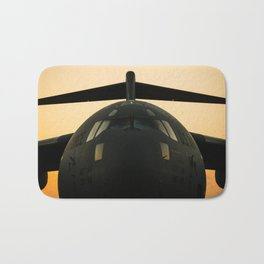 American Military Aircraft Bath Mat