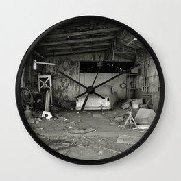 Gone to Dust Wall Clock
