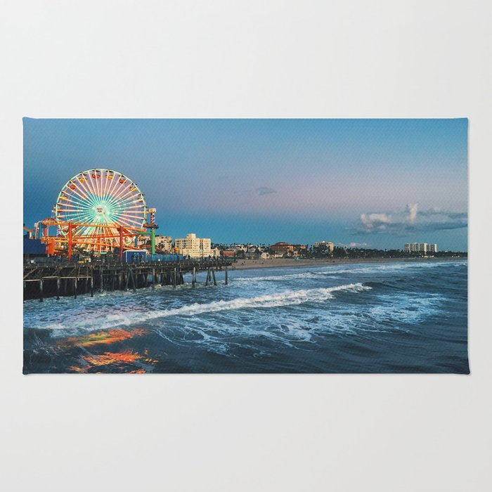 Wheel of Fortune - Santa Monica, California Rug