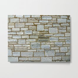 Another Stone In The Wall. Metal Print
