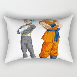 Goku and Vegeta Rectangular Pillow