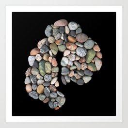 MDI in Cobblestones Art Print