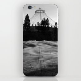 Noiseless Infinity Eddied iPhone Skin