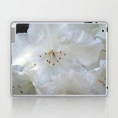 White Satin Laptop & iPad Skin