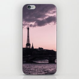 The Eiffel Tower from Pont Alexandre III (vertical) iPhone Skin