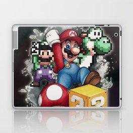 Mario et ses amis Laptop & iPad Skin