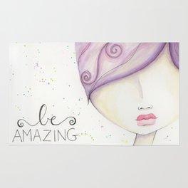 Be Amazing Rug