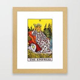 03 - The Empress Framed Art Print
