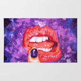 Cosmic lips Rug