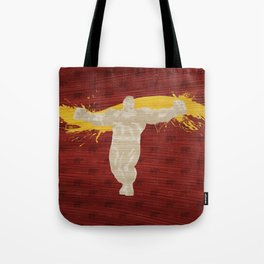 Not A Bad Guy (Homage To Zangief) Tote Bag