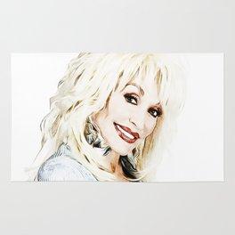 Dolly Parton - Pop Art Rug