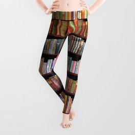 Antique books ft Jane Austen & more Leggings