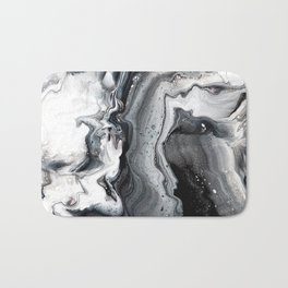 Marble in the Water Bath Mat