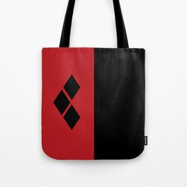 Two Sides of Harley Quinn Tote Bag