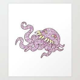 Ultros Colour Art Print