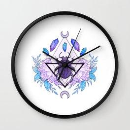 Scarab Queen Wall Clock