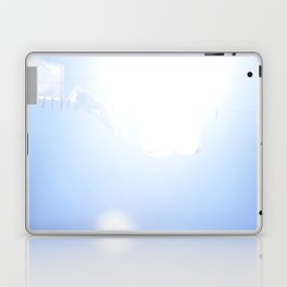Linens Blowing in the Wind on a Laundry Line Laptop & iPad Skin