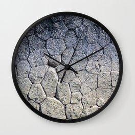 Nature's building blocks Wall Clock