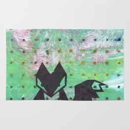 Dotted Fox Rug