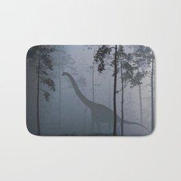 Dinosaur by Moonlight Bath Mat
