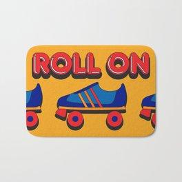 Roll On Rollerskate Bath Mat