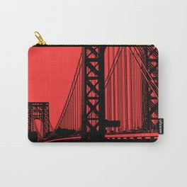 George Washington Bridge Carry-All Pouch