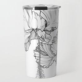 Hibiscus in Bloom Travel Mug