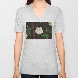 Manhattan Bloom Unisex V-Neck