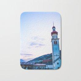 Church in the Alps Bath Mat