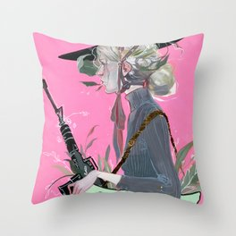 Beau Monde Throw Pillow