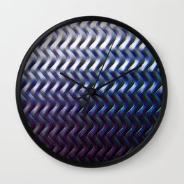 Steel Plated Wall Clock