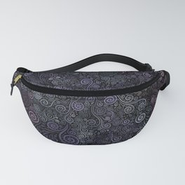 3D Psychedelic Powder Pastel NeuRose Fanny Pack