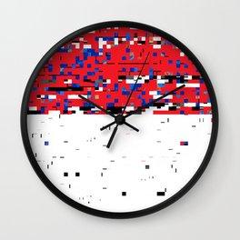 Chunks Wall Clock
