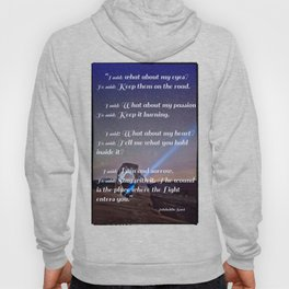 The Wound is The Place Where the Light Enters You - Rumi Hoody