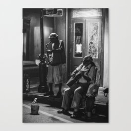 Street Jazz Canvas Print