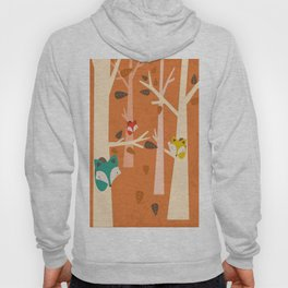 Fox in the Woods Hoody