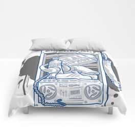 Emergency Hip Hop to the Rescue!  Comforters
