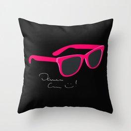 Darren Criss Glasses Throw Pillow