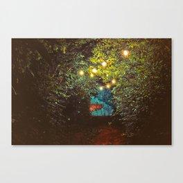 Follow the Lights (Color) Canvas Print