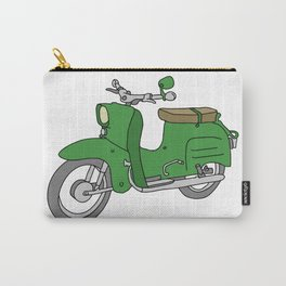 Schwalbe. Vintage motor scooter of GDR Carry-All Pouch