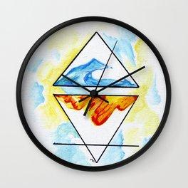 Collide Wall Clock