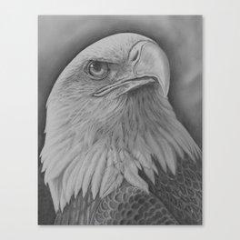 American Pride Eagle Canvas Print