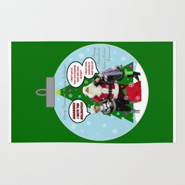 Danny Phantom Christmas ornament greeting card Rug