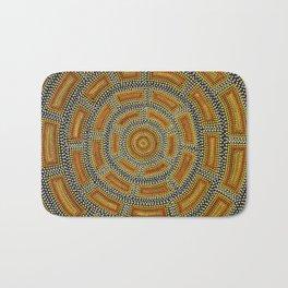 Aborigine abstract 1 Bath Mat